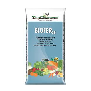 Organsko gnojivo Biofer 25% Fe SO4  25 kg